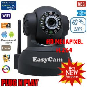 EasyCam WD100 HD 720P Indoor PNP IP Camera